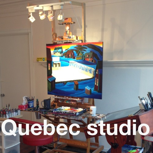 Old Quebec studio