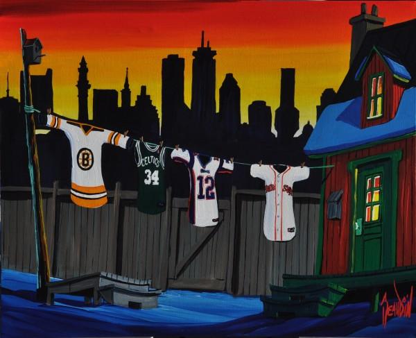 THE FOUR ACES OF BOSTON