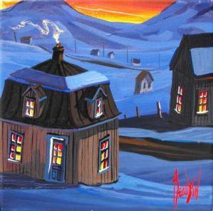 2010-01-25 GRISAILLE CHEZ LES GAGNON