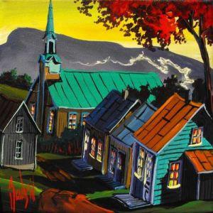 2009-11-15 Du haut du village